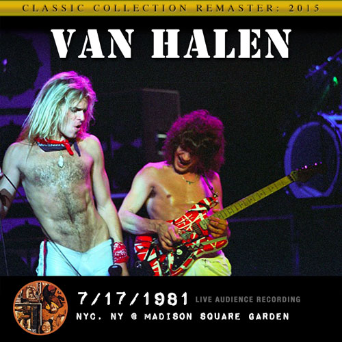 Van halen 1981 nyc ny madison square garden for Madison square garden concert tonight
