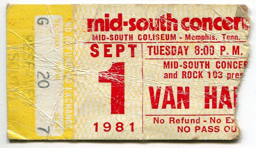 9/1/1981 Ticket