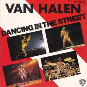 1982 Dancing In The Street single