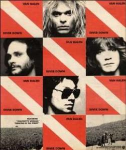 1982 Diver Down Ad