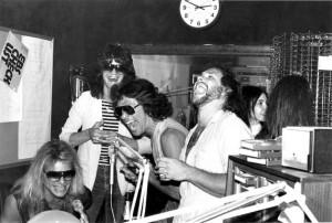 1982 Radio visit
