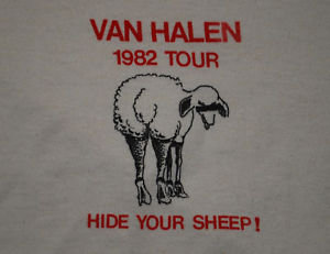1982 Hide Your Sheep shirt