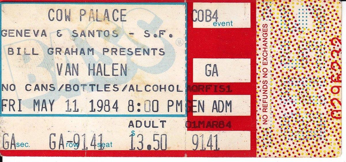 5/11/1984 Ticket