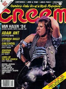 1984: May Creem magazine