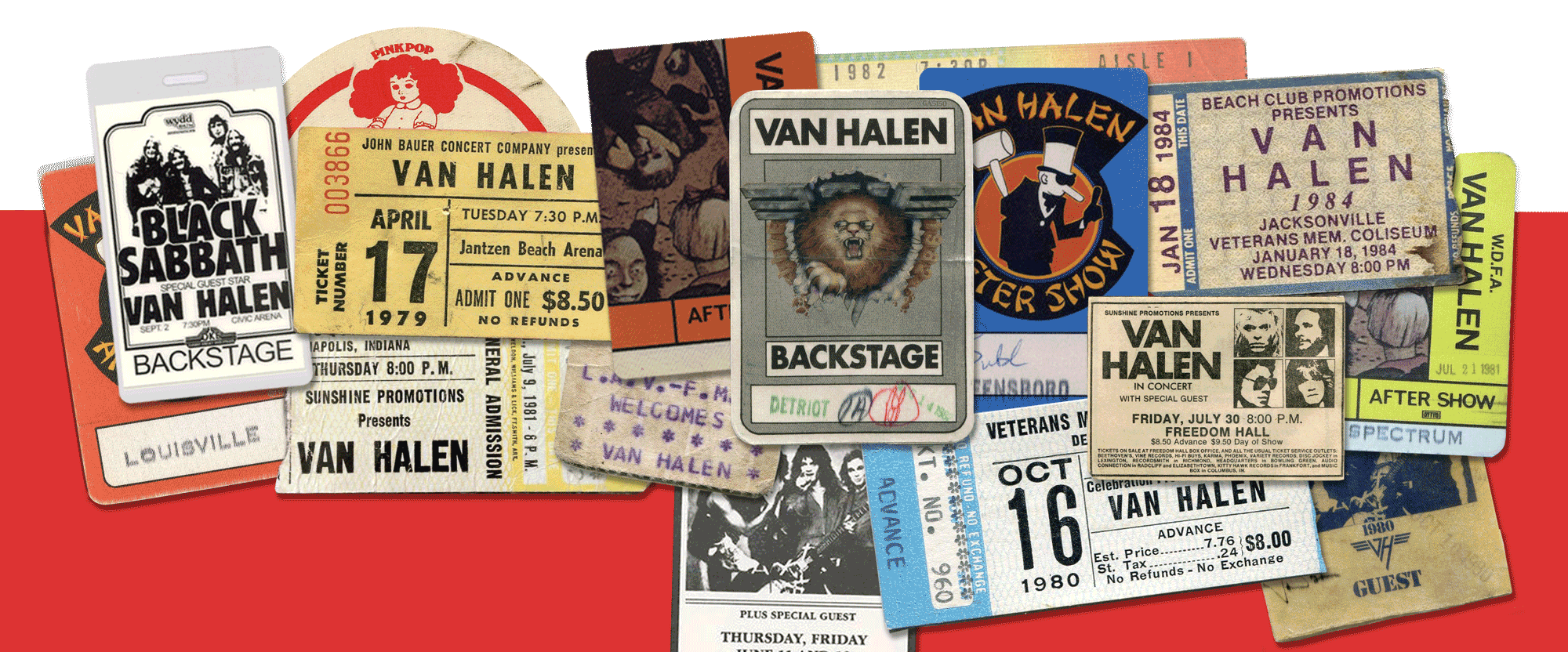 Van Halen Tour Date Archive