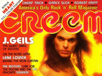 1980 – Creem Magazine David Lee Roth cover (May)