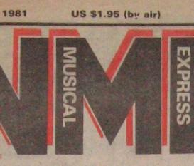 1981 Fair Warning Review: NME