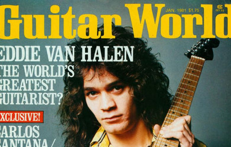 Van Halen - 1981 Interview: Eddie Guitar World Magazine