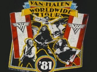 1981 – Tour Dates – Fair Warning Tour