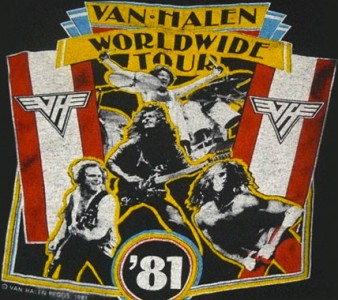 1981 – Tour Dates – Fair Warning Tour