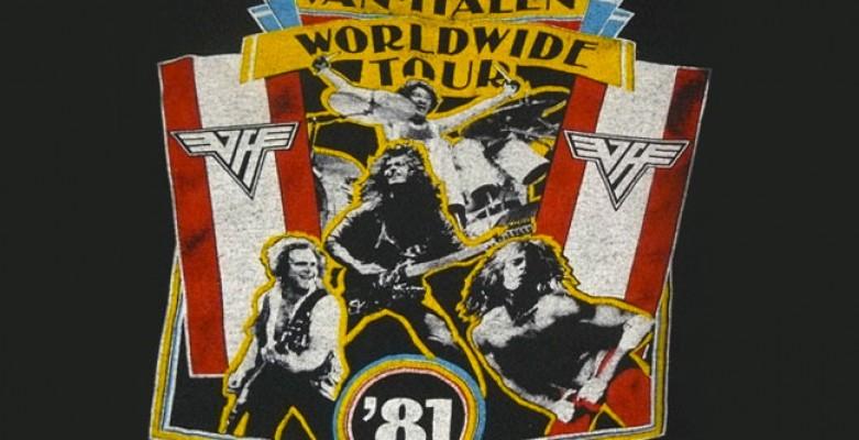Van Halen - 1981 – Tour Dates
