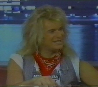1982 Interview: Dave with Felicia Jeter