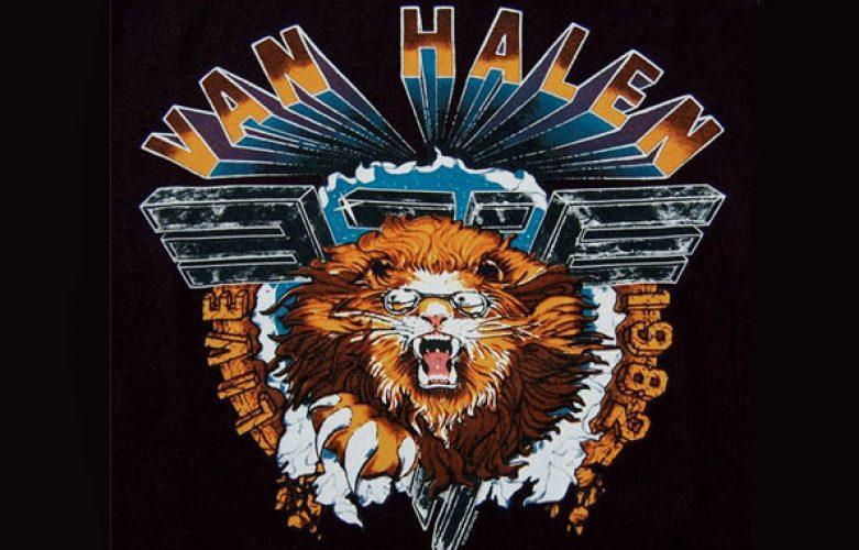 Van Halen - 1982 Tour Dates – Hide Your Sheep Tour
