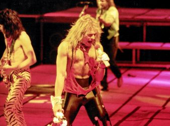 1984 – Providence, RI @ The Providence Civic Center (St. Paddy's Day)