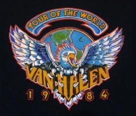 1984 Tour Dates
