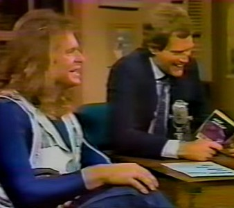 1985 – David Lee Roth Interview on Letterman Show