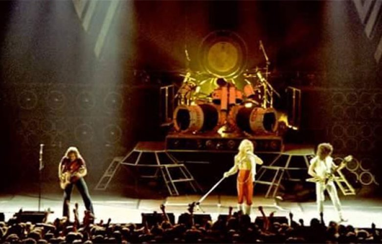 Van Halen - 1980 – Milwaukee, WI @ Milwaukee Arena