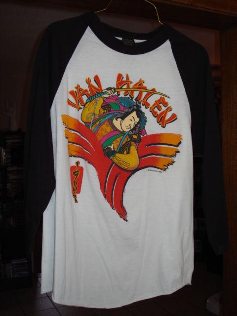1984 Van Halen Samurai jersey